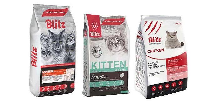 Корм для кошек Blitz
