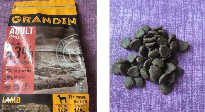 Отзывы покупателей о корме для собак Grandin