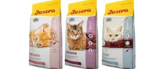 Корм Josera для кошек
