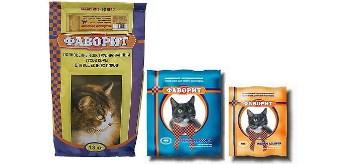 Фаворит для кошек корм