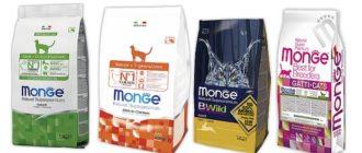 Корм Monge для кошек