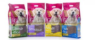 Корм для собак Nero Gold