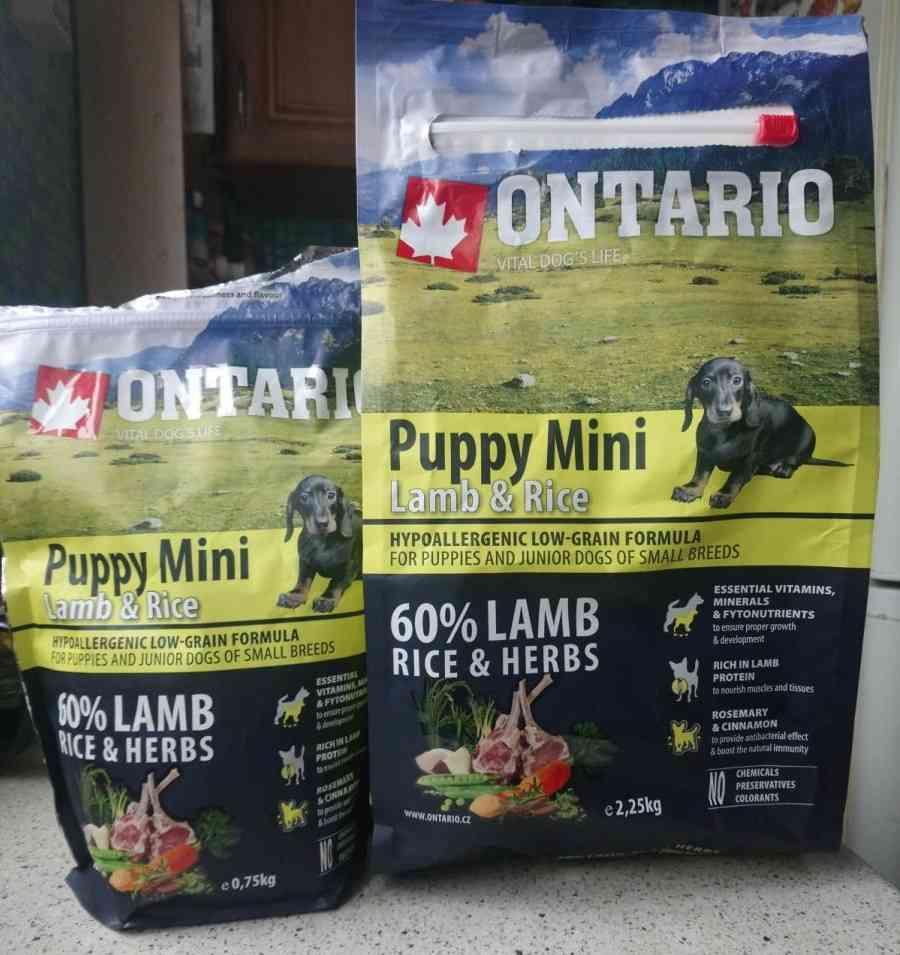 Фото отзывы покупателей корма Ontario для собак