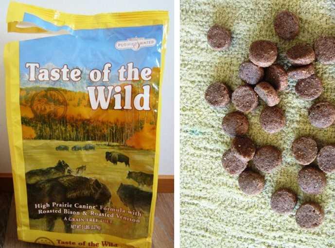 Taste of the Wild для собак отзывы покупателей