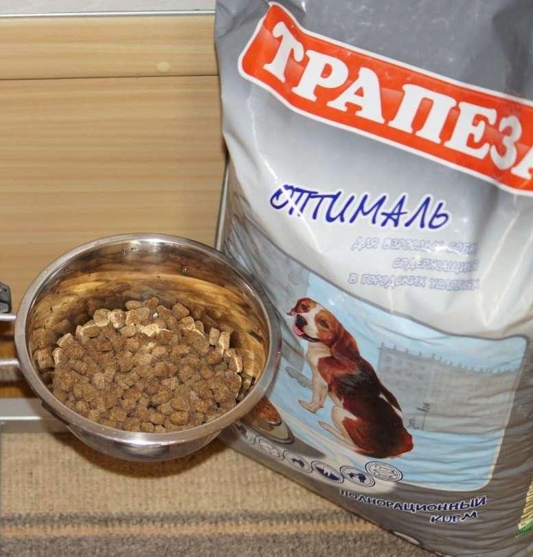 Отзывы покупателей о корме Трапеза для собак