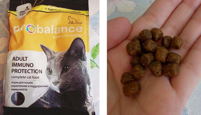 Отзывы покупателей о Probalance для кошек