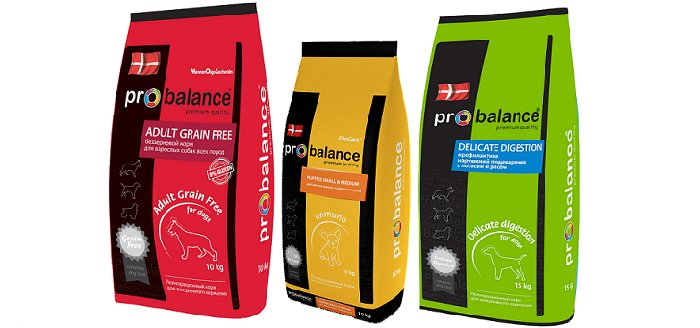 Корм для собак Probalance