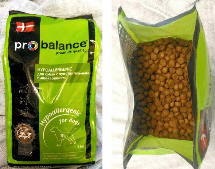 Отзывы о корме для собак Probalance