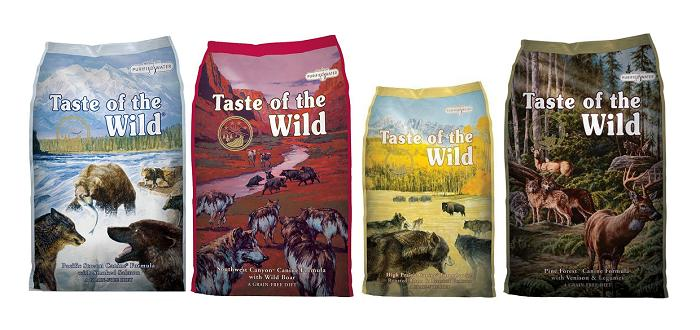 Корм для собак Taste of the Wild