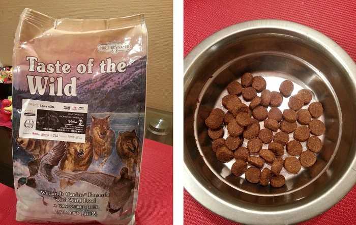 Отзывы покупателей о корме Taste of the Wild для собак