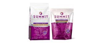 Упаковка корма Summit для кошек