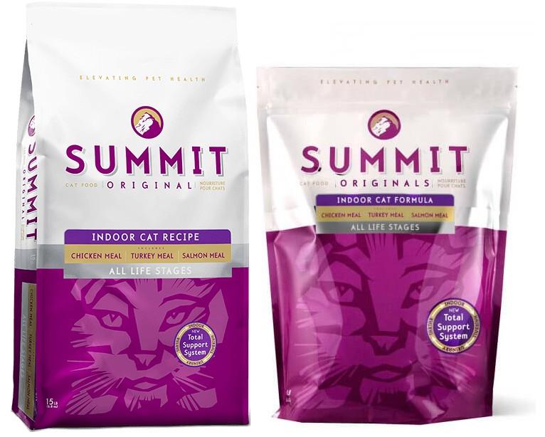 Корм для кошек Summit