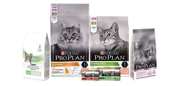 Pro Plan корм кошки