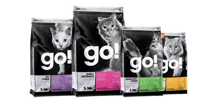 Корм GO! для кошек