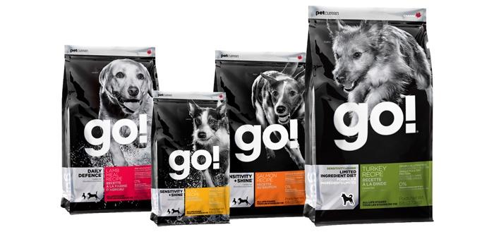 Корм GO! для собак