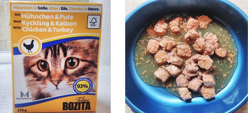 Bozita для кошек отзывы