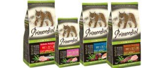 Корм Primordial для кошек
