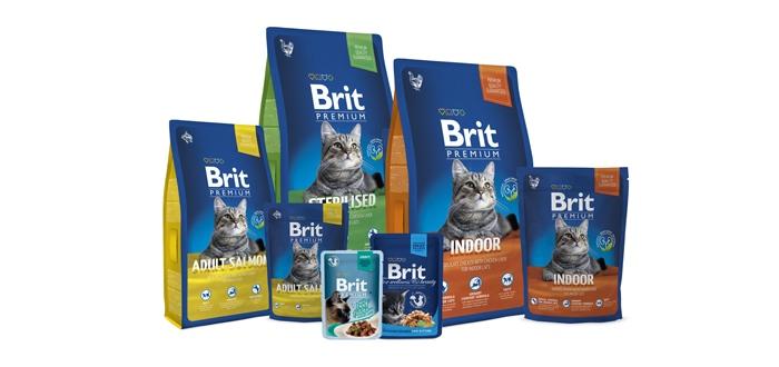 Корм Brit Premium для кошек