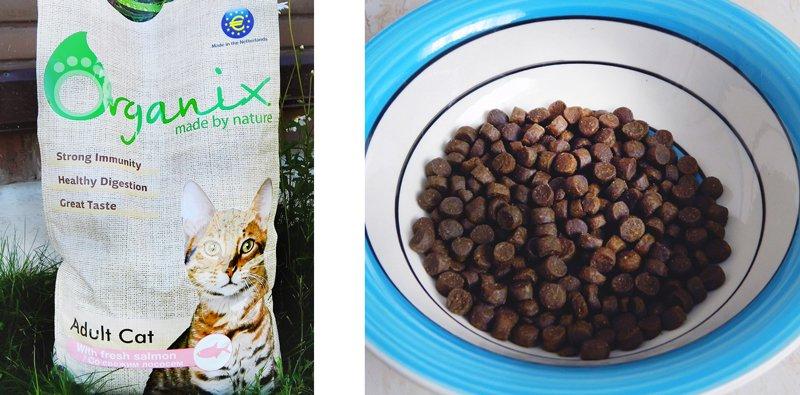 Organix корм для кошек отзыв