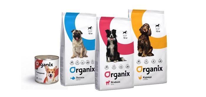 Корм Organix для собак