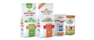 Сухой корм Almo Nature для кошек