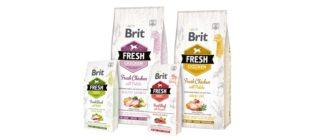 Корм Brit Fresh для собак