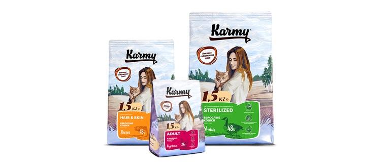 Karmy корм для кошек