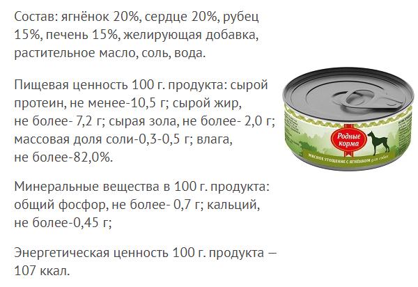 Консервы мясное угощение с Ягненком для собак