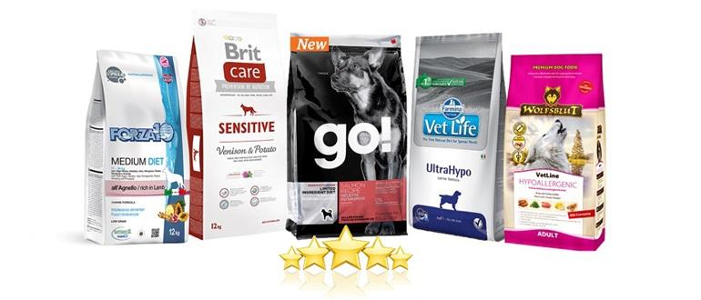 Рейтинг кормов при аллергии для собак 2020