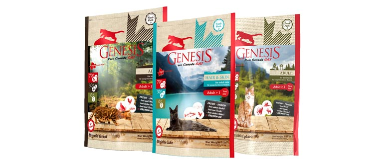 Корм Genesis для кошек
