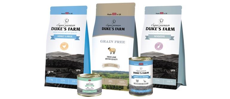 Корм Dukes Farm для собак