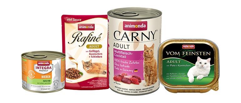 Корм Animonda для кошек