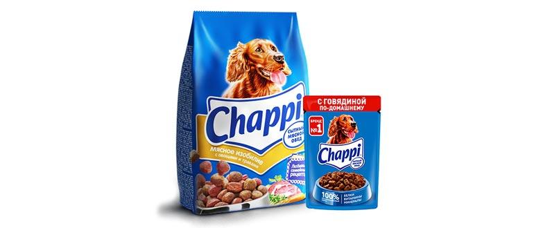 Корм Чаппи для собак