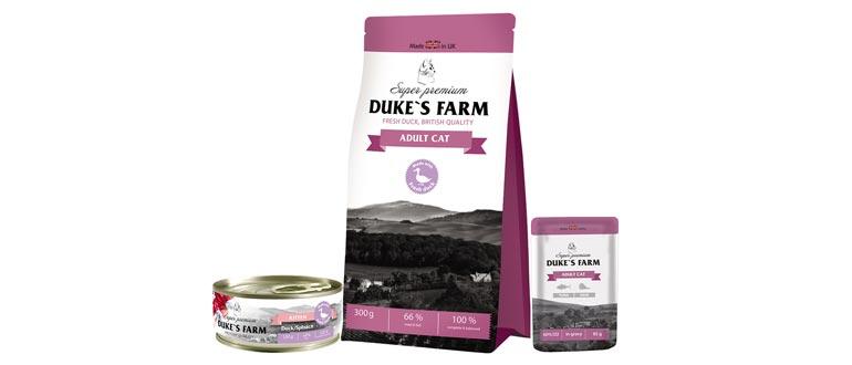 Корм Dukes Farm для кошек