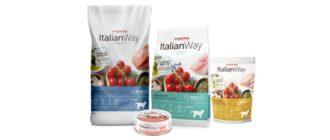 Корм Italian Way для кошек