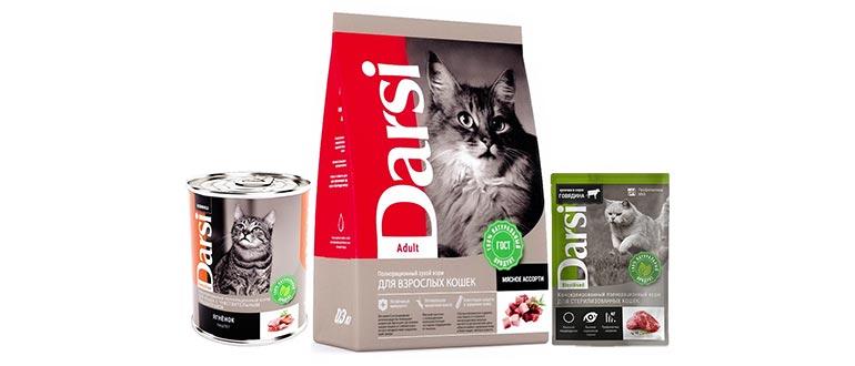 Корм Darsi для кошек