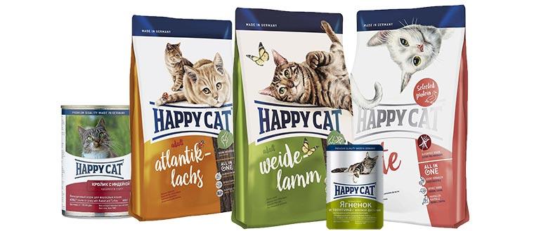 Корм Happy Cat