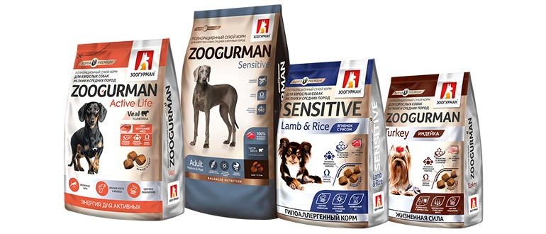 Корм Zoogurman для собак