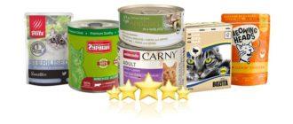 Рейтинг лучших влажных кормов для кошек 2021